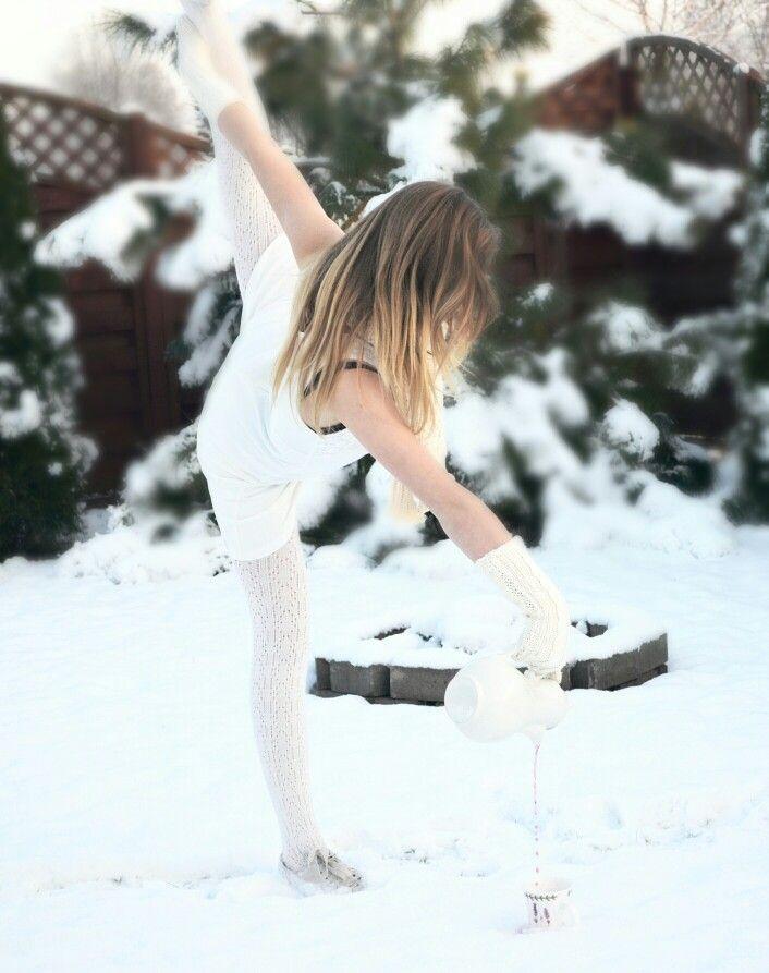 Gimnastyczna herbatka Fot: Dorota Gąsior