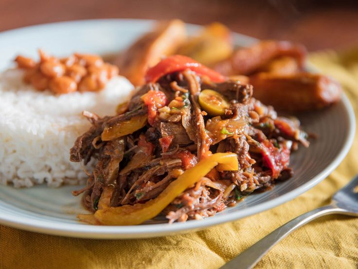 Cuban Ropa Vieja - shredded beef in a sauce of tomatoes, onions and bell peppers | serious EATS