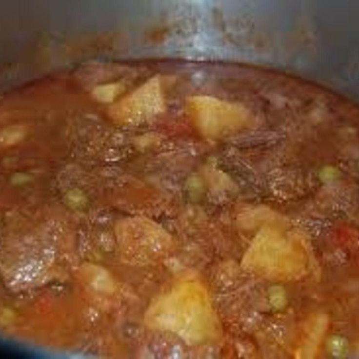 """This was one of my mother-in-law's recipes and I just loved it. Of course she didn't even own a crock pot so everything was done """"old school"""". I adapted her recipe to a crock pot version and it turns out similar to hers. Of course nobody can cook like or mothers and mother-in-laws but my husband let this pass. ;)"""