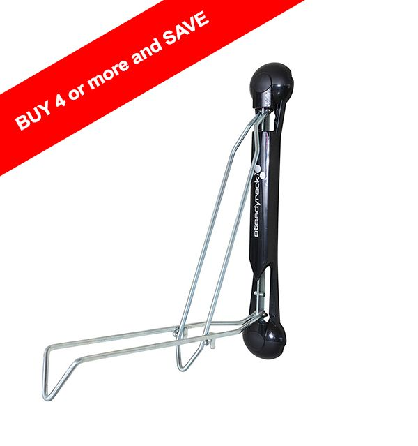Classic Steadyrack Bike Rack is the best bicycle storage solution for your shed, garage, or office. This wall bike rack maximises space and is easy to use.