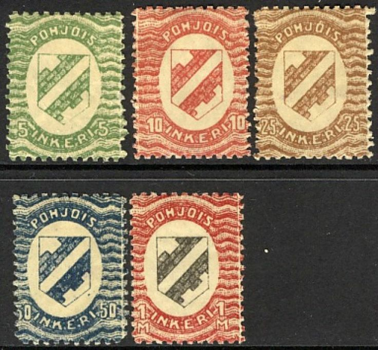 North Ingria / Norra Ingermanland stamps
