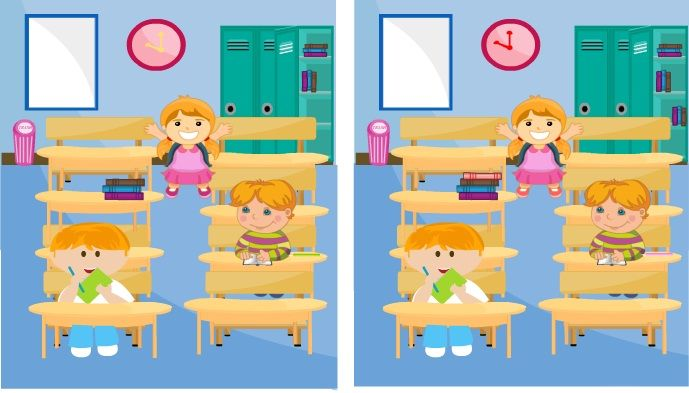 Zeka Oyunları, Sınıfta Fark Bulma http://www.korkuncoyunlar.gen.tr/zeka-oyunlari/sinifta-fark-bulma.html