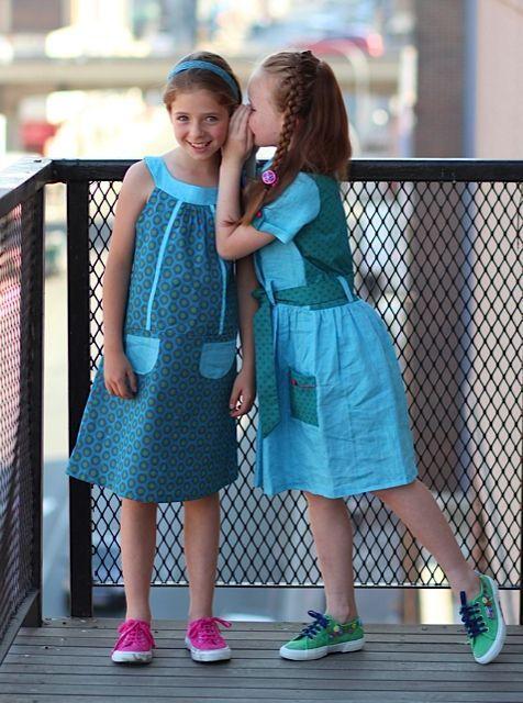 blue shweshwe dresses for kids 2016