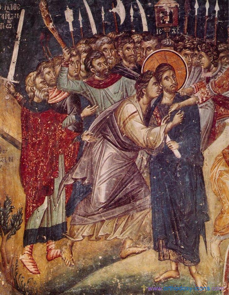 Monastery Stavronikita, Athos. Part II