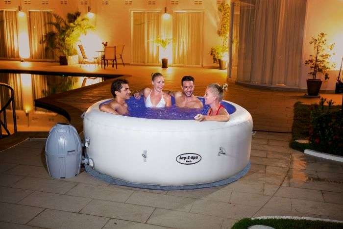 25 best ideas about spa gonflable 6 places on pinterest spa gonflable spa - Avis jacuzzi gonflable ...