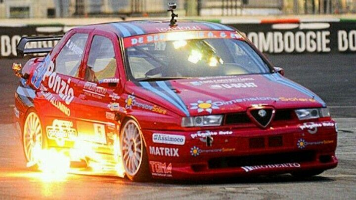 Alfa Romeo 155 Fire Alfa Romeo 155 Alfa Romeo Cars Gt Cars