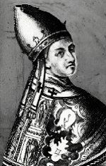 The youngest pope was 11 years old. Pope Benedict IX.