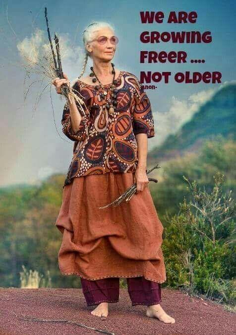 We are growing freer not older