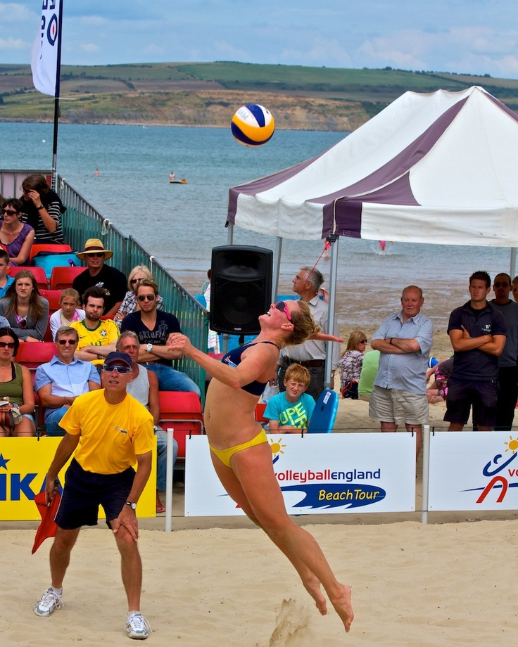 Love Dorset » Weymouth Beach Volleyball Classic. Fantastic annual free event on Weymouth Beach