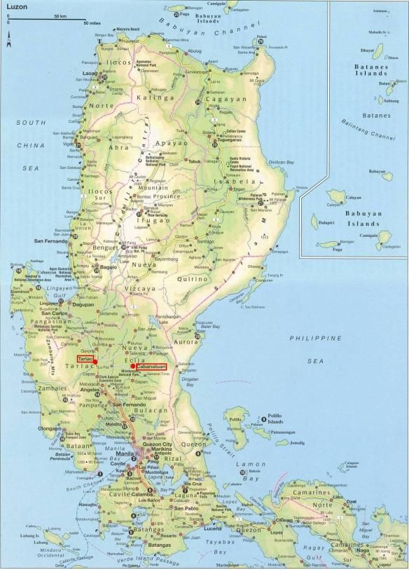 Map Of The Philippines Luzon Map Of Luzon, Philippines | Old World Philippines | Philippine map