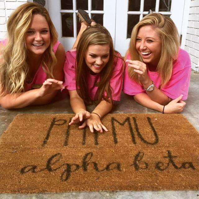 Phi Mu at University of Arkansas #PhiMu #sorority #Arkansas