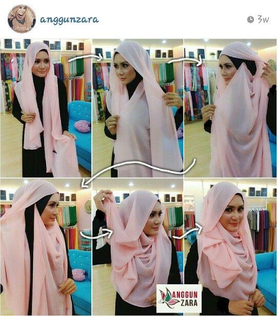 Anggun zara :: hijab tutorial