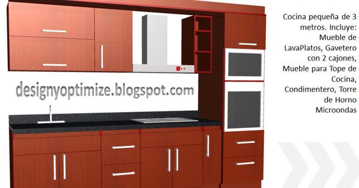 Diseños de cocinas, armarios y muebles en general. Programas y software de carpinteria, Herramientas de carpinteros, fotos y videos. #decoraciondecocinasideas