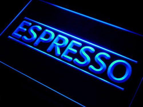 Espresso Coffee Shop Cafe Club Neon Light Sign