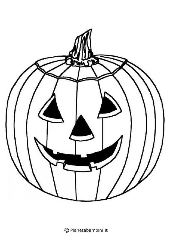30 Disegni Di Zucche Di Halloween Da Stampare E Colorare Crafts