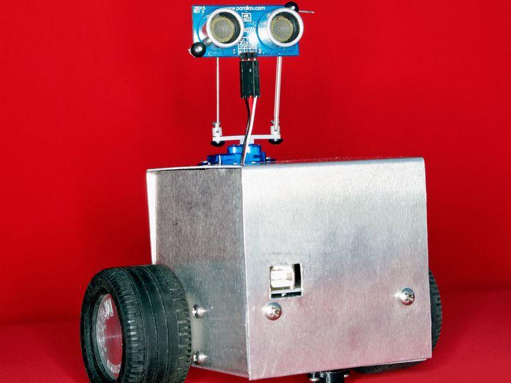 Autonomous Robot Follows Objects / Avoids Obstacles