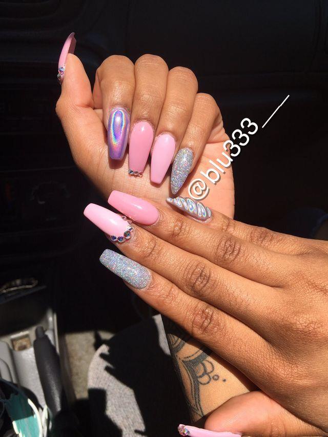 Attention Pinterest Blu333 Add Sc Just Blu333 Youtube Blue S With Blu333 Tumbler Justblu333 Instagram Flex Wedding Acrylic Nails Classy Nails Nails
