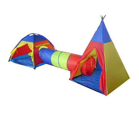 Cubby-Tube-Teepee 3pc Pop-up Play Tent u0026 Tunnel  sc 1 st  Pinterest & 35 best pop up play tent images on Pinterest | Play tents ...