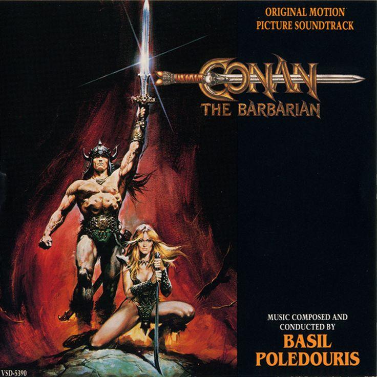 Conan The Barbarian (1982) [Soundtrack] Cover