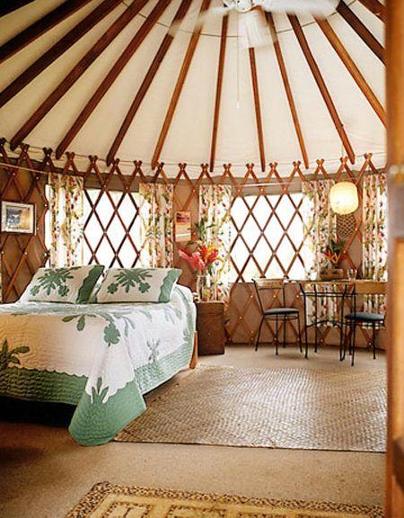 43 best yurt interiors images on pinterest | yurt interior, yurts