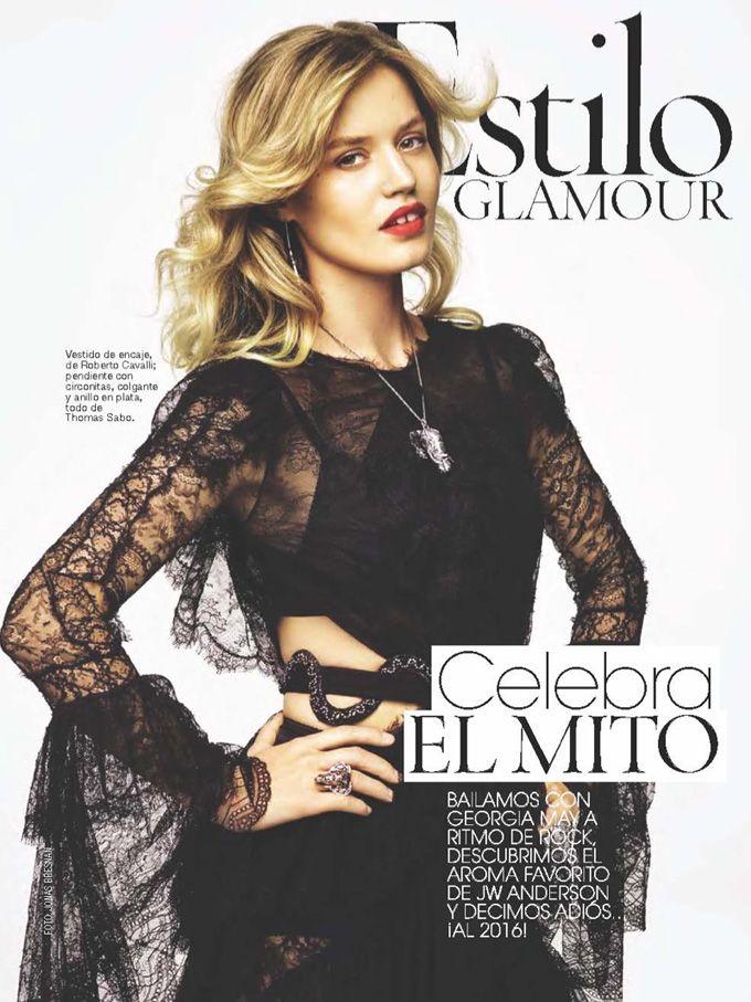 Топ-модель Джорджия Мэй Джаггер (Georgia May Jagger) украсила обложку испанского Glamour. Фотографом стал Джонас Бреснан (Jonas Bresnan).