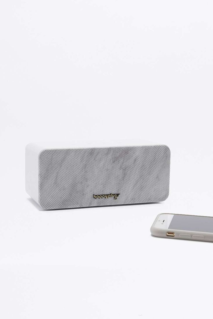 Happy Plugs Mini Sound Piece Speaker and Marble Grill