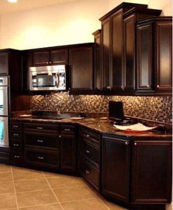 Dark Kitchen Cabinets 39 Best Kitchens Wdark Cabinets Images On Pinterest  Dream .