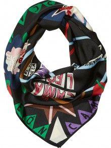 Scotch&Soda barevný šátek Printed Scarf - 1250 Kč