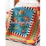 Rengarenk Bebek Battaniyesi . İstenilen Renkte sipariş verebilirsiniz #battaniye #tıgisi #tığişi #renkli #rengarenk #bebek #baby #anne #takip #kalite  instagram   @yun_dunyasi