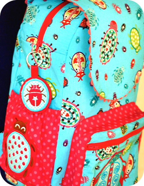 15 best Schnittmuster Kinder Rucksack images on Pinterest   Rucksack ...