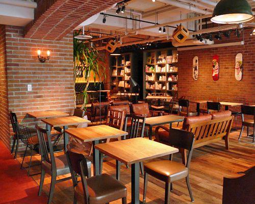 BLUE BOOKS CAFE(ブルーブックスカフェ)[静岡市葵区]|アットエス