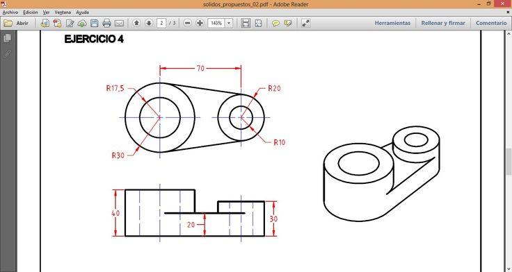 Dibujo Mecánico en Autocad 3D