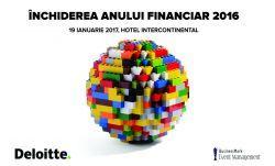 Inchiderea anului financiar 2016, 19 ianuarie 2017, București