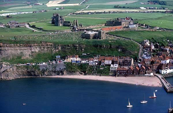 Whitby:Town of Voyagers and Vampires.
