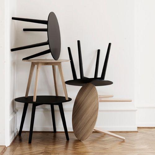 Getama - Circle - moffice.dk #Sofabord #Træbord #Træmøbler