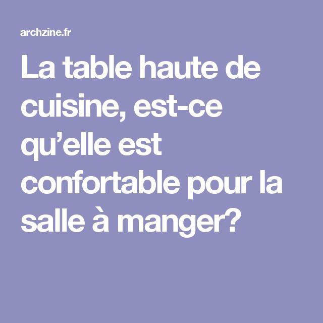 Best 25 table haute de cuisine ideas only on pinterest - Table haute cuisine but ...