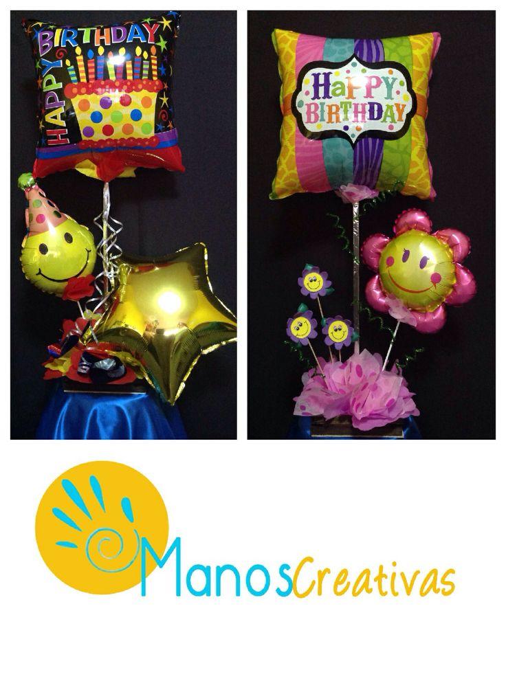 24 best images about arreglos con globos on pinterest - Globos de cumpleanos ...