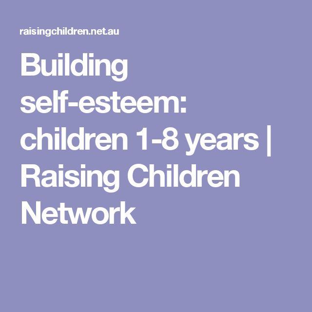 Building self-esteem: children 1-8 years | Raising Children Network