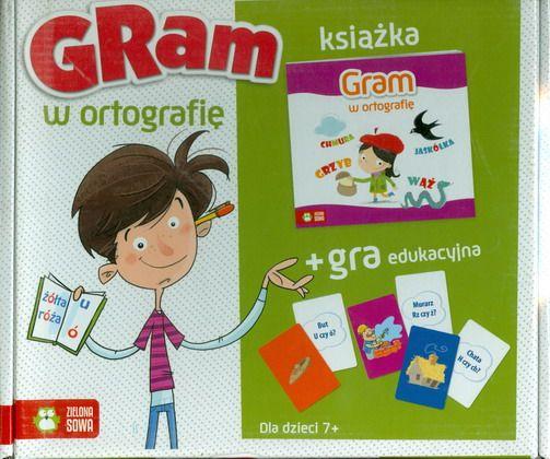 Gram w ortografię - książka z grą SPLENDOR24.pl