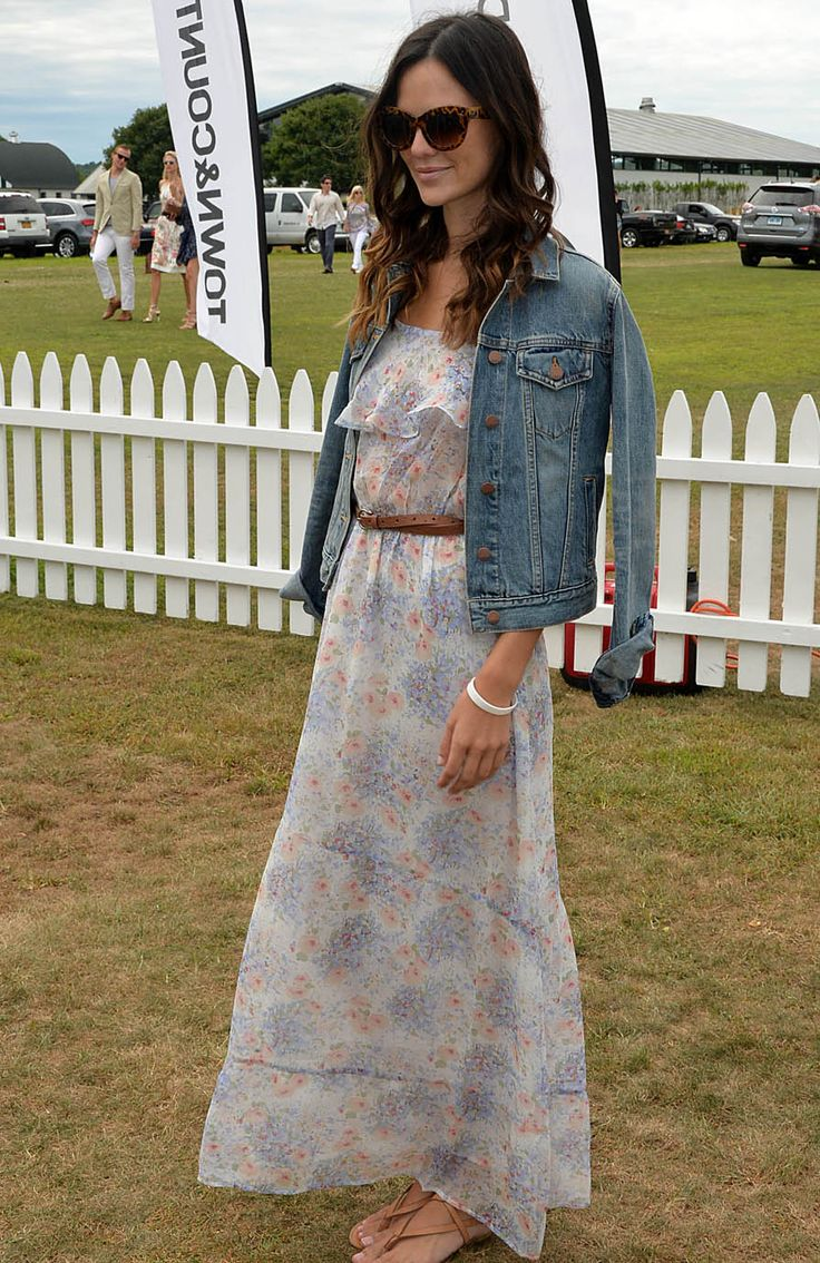 Polo Match Dresscode - Polo Match Fashion - Town & Country Magazine