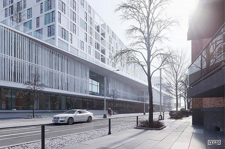 Render by @verovisuals  ・・・  An image for our friends from pfp Architekten!  https://www.behance.net/gallery/54026039/Uniklinik-Koeln  #architecturevisualization #architecturevisualisation #architecturalvisualization #archviz #visualization #architecture #rendering #3dsmax #coronarender #competition #köln #pfparchitekten #hospital #klinikumköln #image #renderbox #art #vero #verovisuals #qualityrender