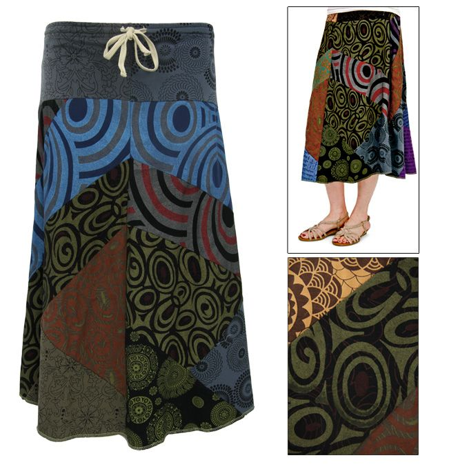 Pick-a-Pattern Cotton Skirt at The Animal Rescue Site