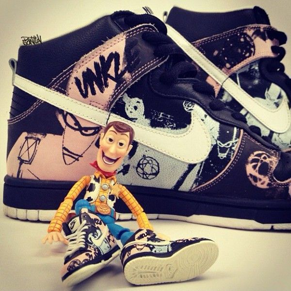quality design 6bce2 d9092 ... Toy Story - Nike Dunk High Unkle 0⃣6⃣SNKRS.PICTURES.