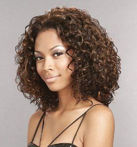 Beshe Synthetic Lace Front Wig MINI - 1 by Beshe. $45.99. Synthetic Lace Front Wig Beshe LW-MINI Ear to Ear Curly Page Spiral S-Curl Mix