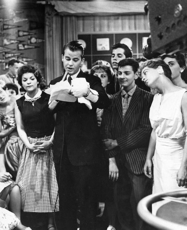 American bandstand 1950s dick clark american bandstand for 979 the beat number