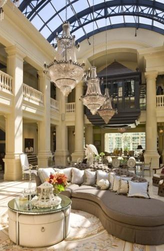 Italianate Residence traditional living room