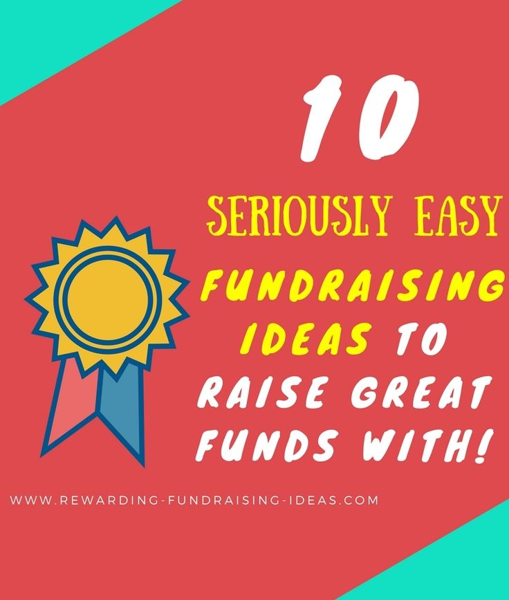 Do you need easy #Fundraising Ideas? ... Low hassle ideas that still raise great funds?! Well - Here are the top 10 ideas...