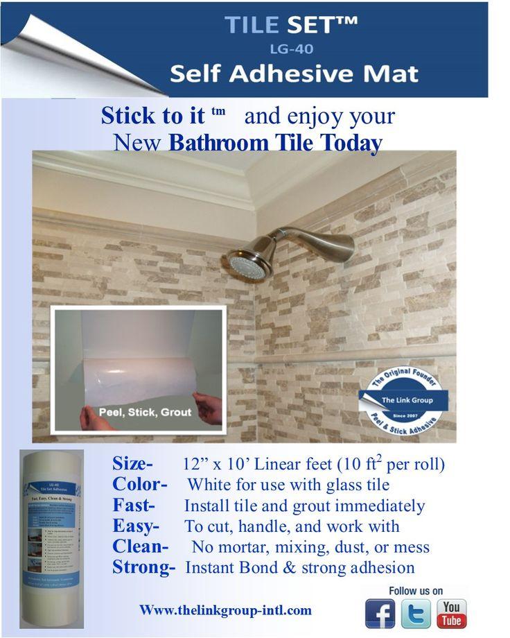 Shower wall tile installation. 17 Best images about Peel and stick Glass Tile Backsplash on