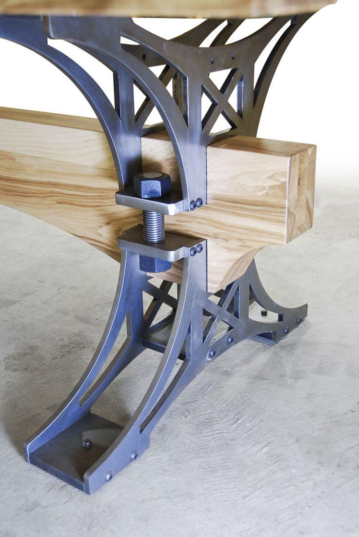 Brandner Design White Ash Truss Table