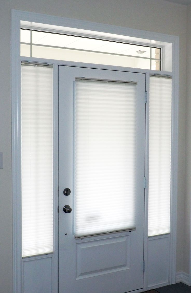 Door Window Shades : Images about door glass and sidelight window